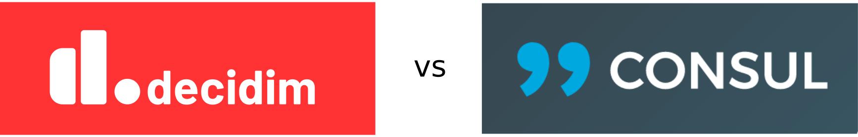Comparativa Decidim vs. Cónsul